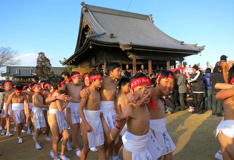 Kỳ lạ Lễ Hội Khỏa Thân của Nhật Bản