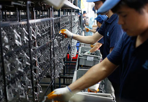 Nhà máy sản xuất vỏ xe bus Gemilang tại Johor, Malaysia