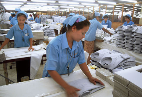 Nhà máy dệt may Ramatex Textiles Industrial tại Batu Pahat, Malaysia