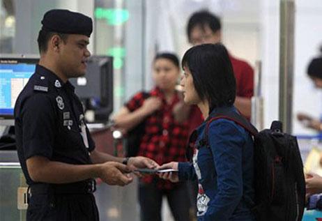 Luật nhập cư Malaysia