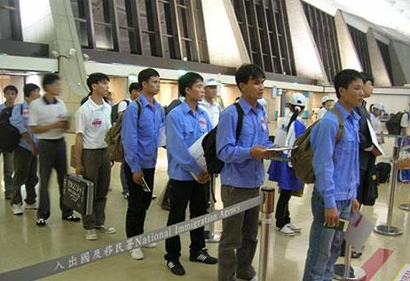 Đi Xuất khẩu lao động Đài Loan hơn 6000 người trong tháng 8